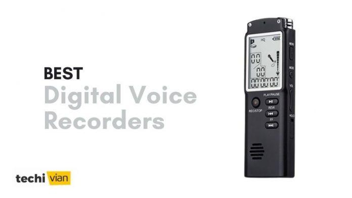 Best Digital Voice Recorders in India - Techivian