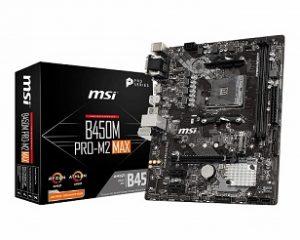 MSI B450M PRO M2 MAX Gaming m-ATX Motherboard