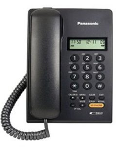Panasonic KX-TSC62SXB Corded Landline Phone